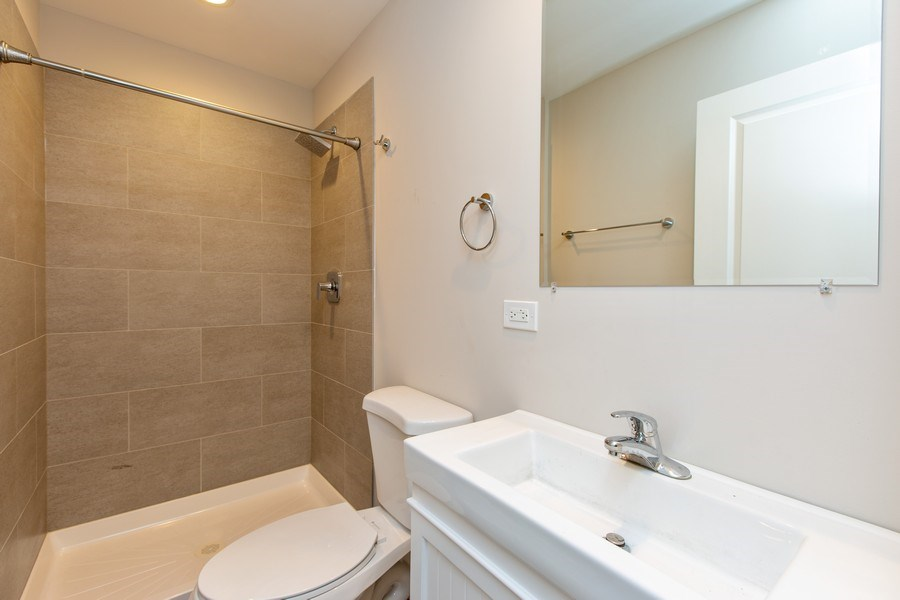 Real Estate Photography - 1450 North Ashland Ave, Chicago, IL, 60622 - Bathroom