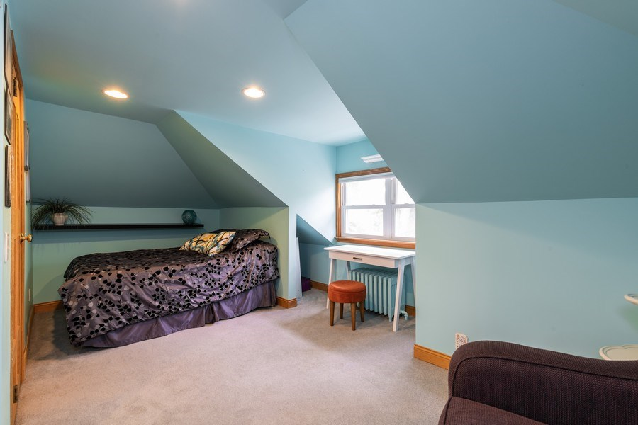 Real Estate Photography - 103 Pine Ave, Riverside, IL, 60546 - 2nd Bedroom