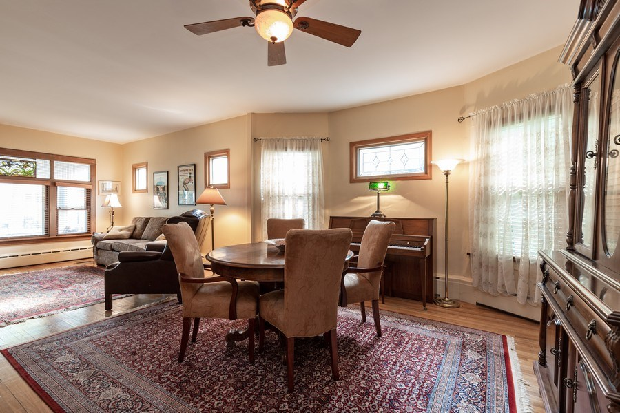 Real Estate Photography - 103 Pine Ave, Riverside, IL, 60546 - Dining Room