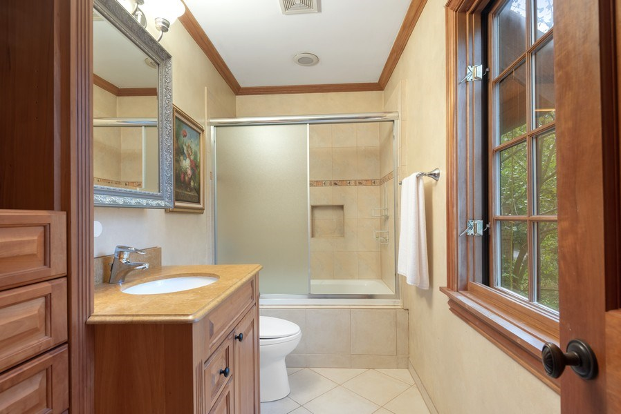 Real Estate Photography - 305 Central Ave, Wilmette, IL, 60091 - 3rd Bathroom