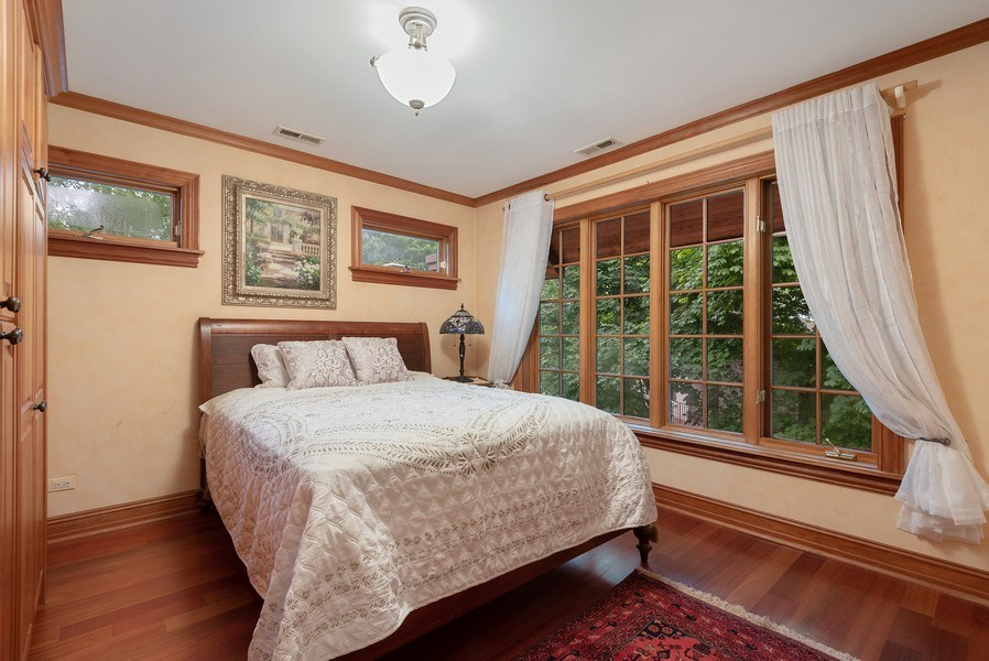 Real Estate Photography - 305 Central Ave, Wilmette, IL, 60091 - 2nd Bedroom