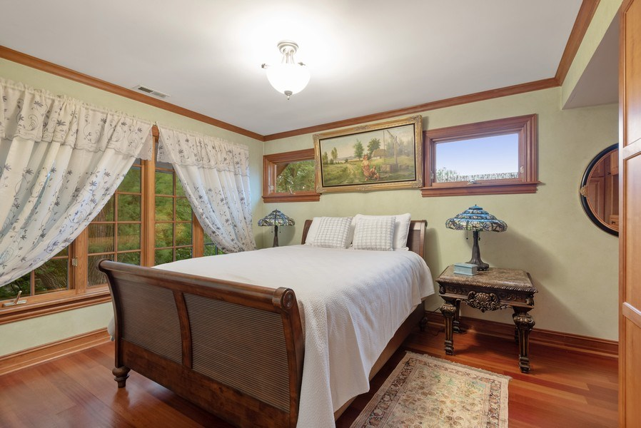 Real Estate Photography - 305 Central Ave, Wilmette, IL, 60091 - Bedroom
