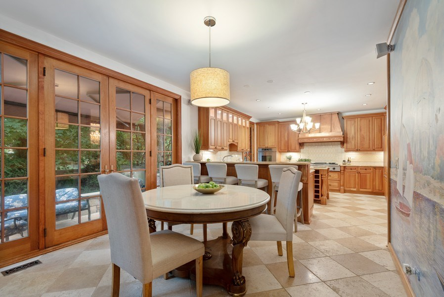 Real Estate Photography - 305 Central Ave, Wilmette, IL, 60091 - Kitchen / Breakfast Room