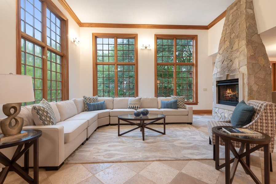 Real Estate Photography - 305 Central Ave, Wilmette, IL, 60091 - Family Room