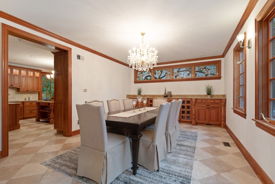 Real Estate Photography - 305 Central Ave, Wilmette, IL, 60091 - Dining Room