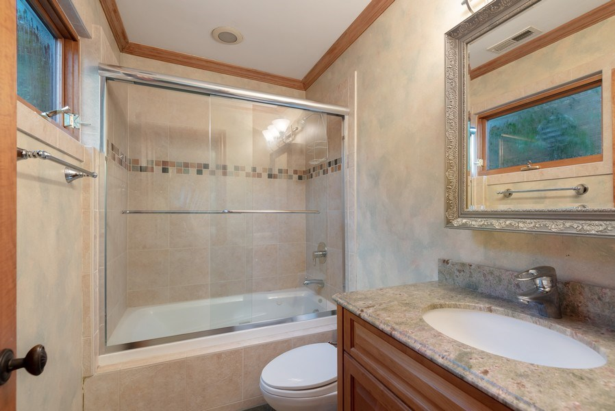 Real Estate Photography - 305 Central Ave, Wilmette, IL, 60091 - Bathroom