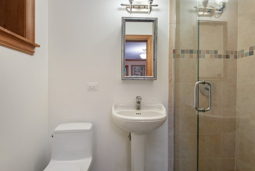 Real Estate Photography - 305 Central Ave, Wilmette, IL, 60091 - 2nd Bathroom
