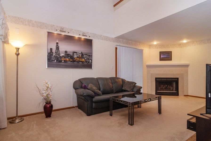 Real Estate Photography - 3522 Frontenac Ct, Aurora, IL, 60504 - Living Room