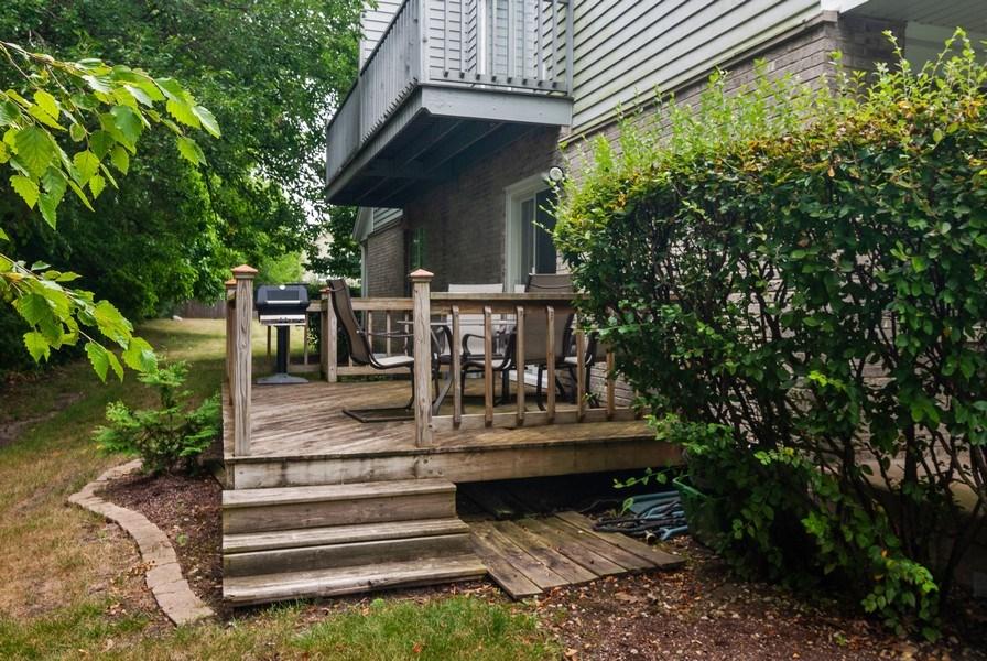 Real Estate Photography - 3522 Frontenac Ct, Aurora, IL, 60504 - Back Yard