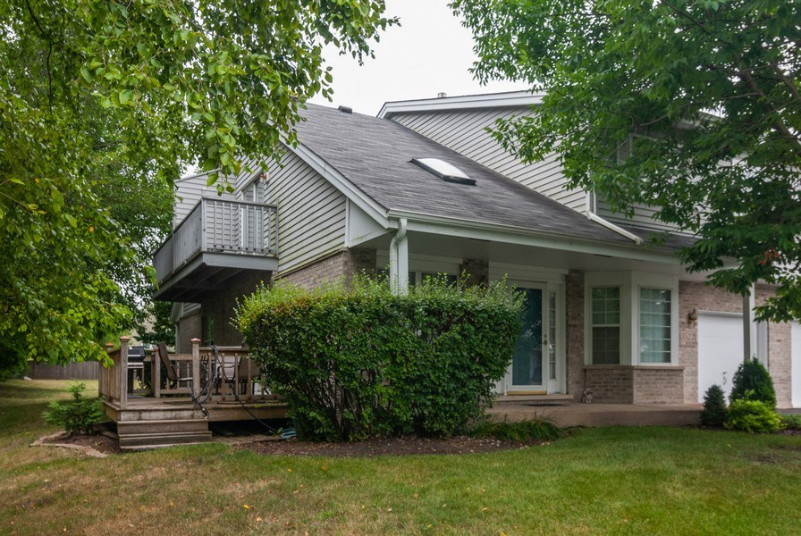 Real Estate Photography - 3522 Frontenac Ct, Aurora, IL, 60504 - Side View
