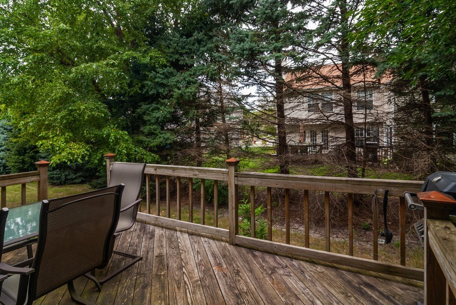 Real Estate Photography - 3522 Frontenac Ct, Aurora, IL, 60504 - Deck