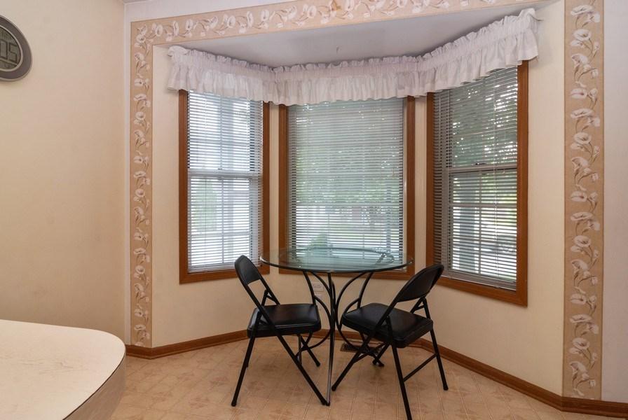Real Estate Photography - 3522 Frontenac Ct, Aurora, IL, 60504 - Breakfast Nook