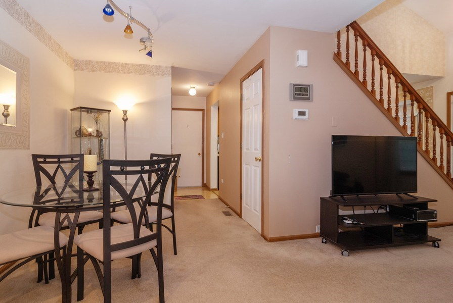 Real Estate Photography - 3522 Frontenac Ct, Aurora, IL, 60504 - Living Room / Dining Room