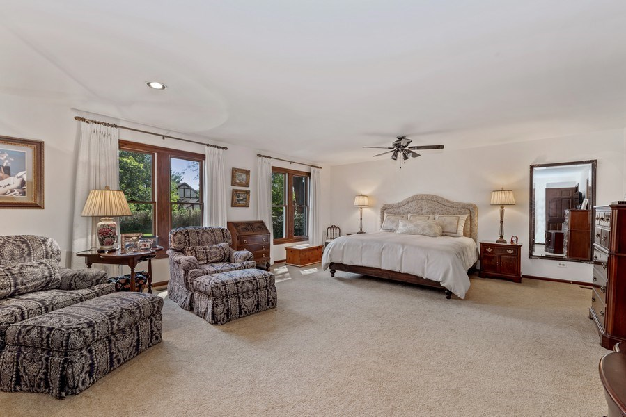 Real Estate Photography - 1270 Carol Ln, Deerfield, IL, 60015 - Master Bedroom