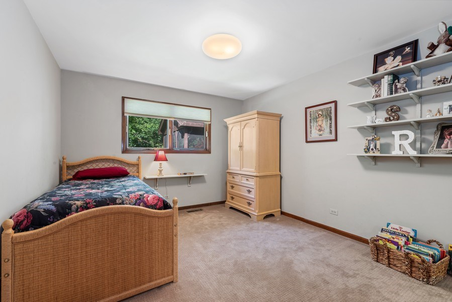 Real Estate Photography - 1270 Carol Ln, Deerfield, IL, 60015 - 2nd Bedroom