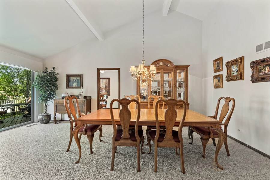 Real Estate Photography - 1270 Carol Ln, Deerfield, IL, 60015 - Dining Room