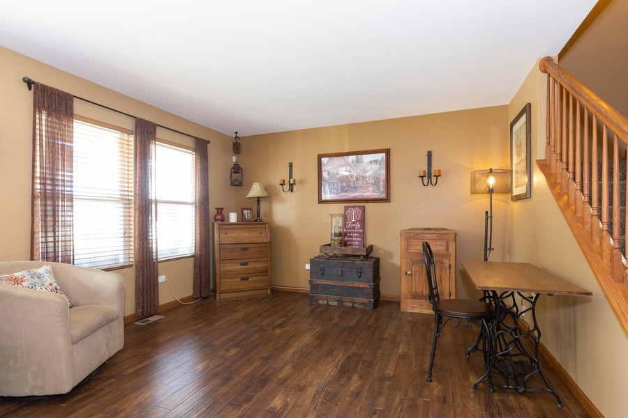 Real Estate Photography - 3508 Ironwood Ct, Joliet, IL, 60435 - Living Room