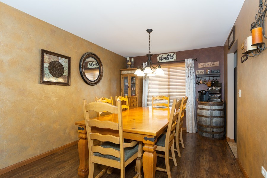 Real Estate Photography - 3508 Ironwood Ct, Joliet, IL, 60435 - Dining Room