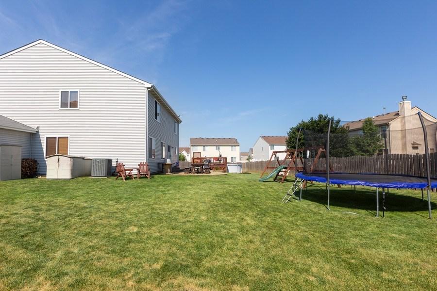 Real Estate Photography - 3508 Ironwood Ct, Joliet, IL, 60435 - Back Yard