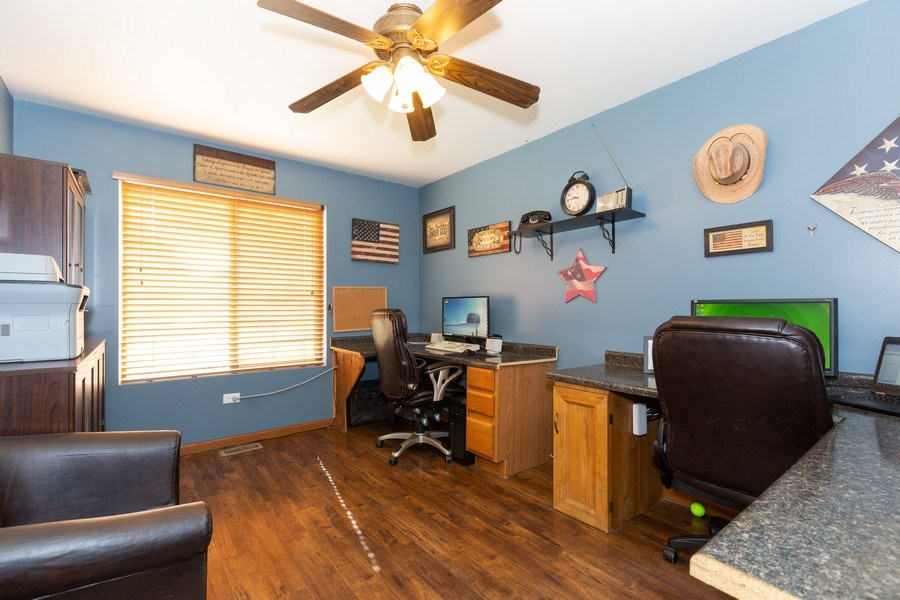 Real Estate Photography - 3508 Ironwood Ct, Joliet, IL, 60435 - Office