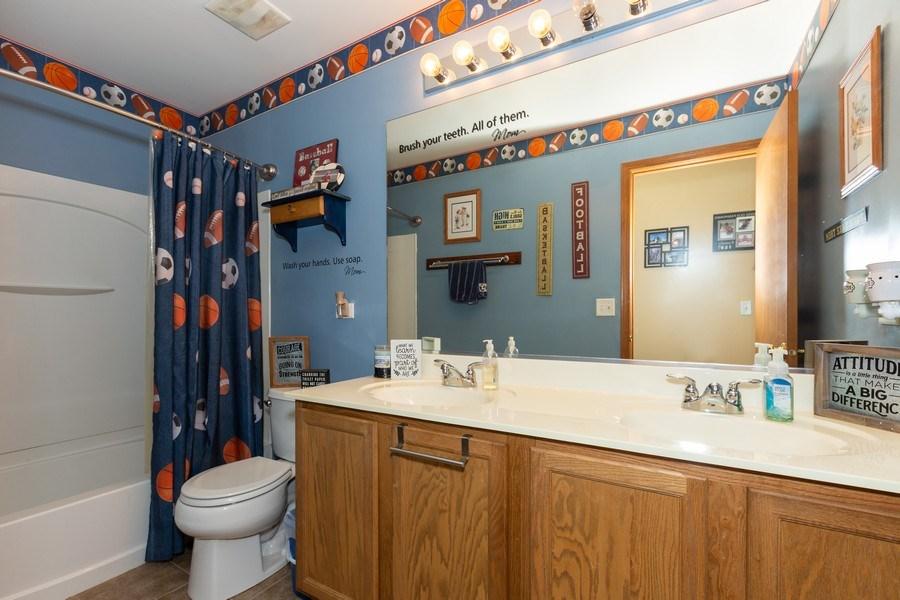 Real Estate Photography - 3508 Ironwood Ct, Joliet, IL, 60435 - Bathroom