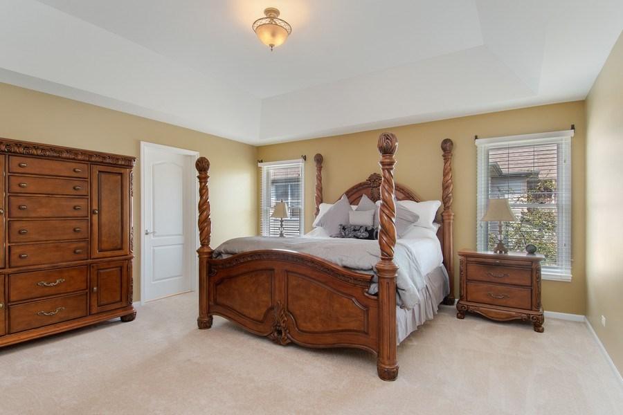 Real Estate Photography - 502 Mallard Point Dr, North Aurora, IL, 60542 - Master Bedroom