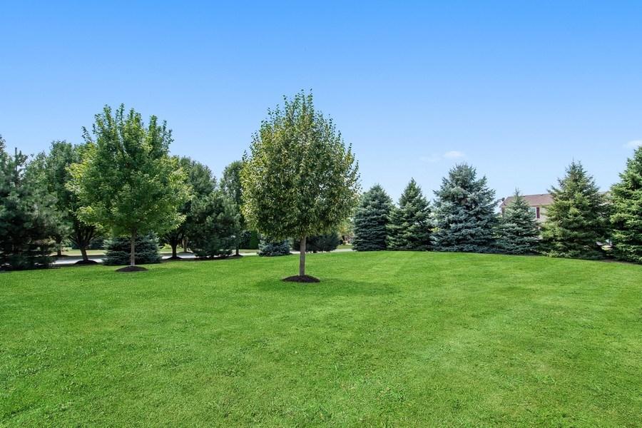 Real Estate Photography - 502 Mallard Point Dr, North Aurora, IL, 60542 - Back Yard