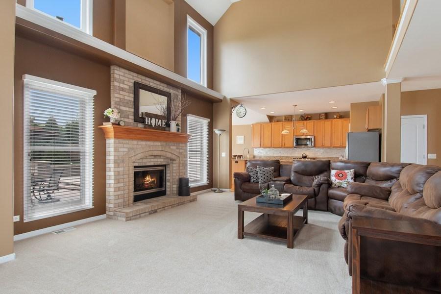 Real Estate Photography - 502 Mallard Point Dr, North Aurora, IL, 60542 - Family Room