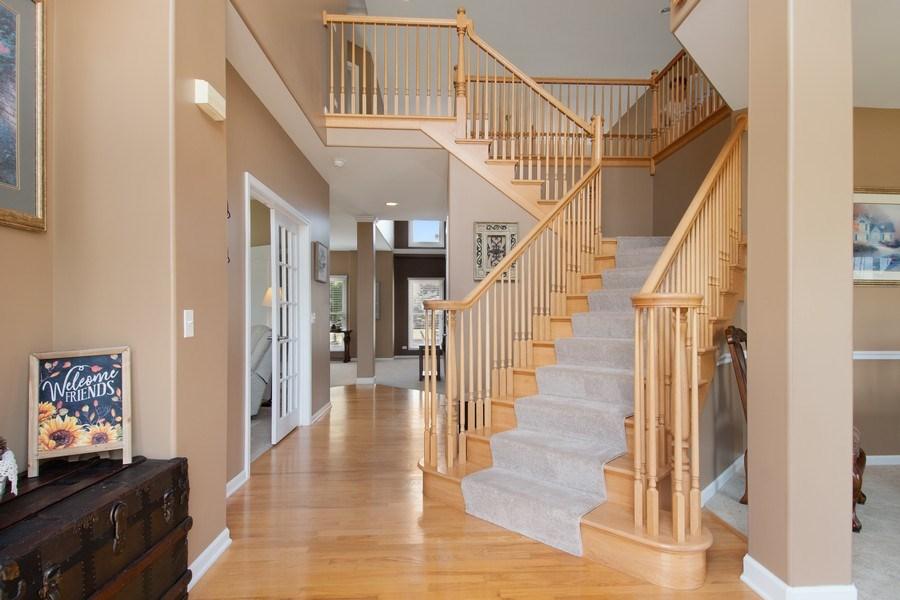 Real Estate Photography - 502 Mallard Point Dr, North Aurora, IL, 60542 - Foyer