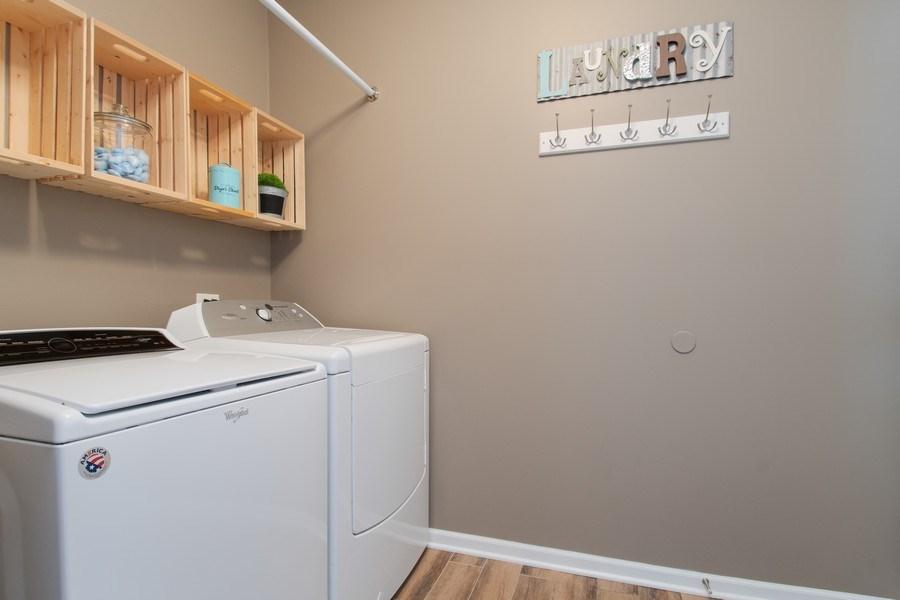 Real Estate Photography - 502 Mallard Point Dr, North Aurora, IL, 60542 - Laundry Room