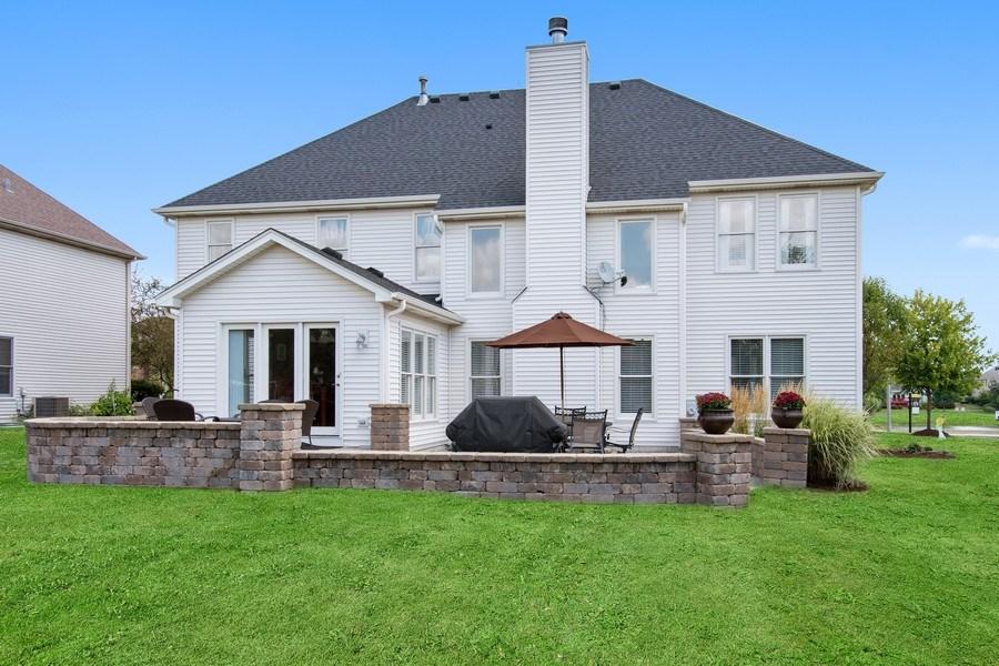 Real Estate Photography - 502 Mallard Point Dr, North Aurora, IL, 60542 - Rear View