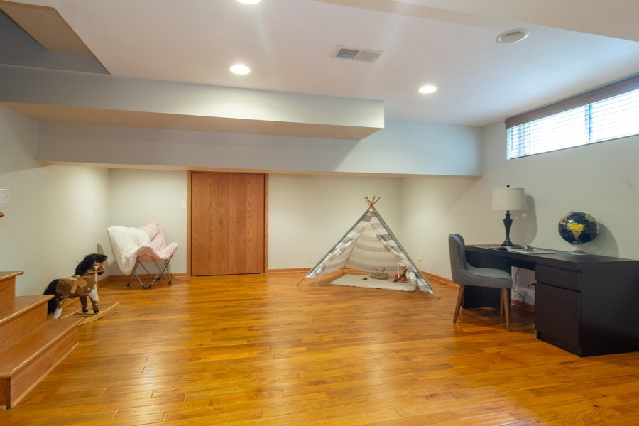 Real Estate Photography - 3039 North Huntington Dr, Arlington Heights, IL, 60004 - Lower Level is perfect for office or play