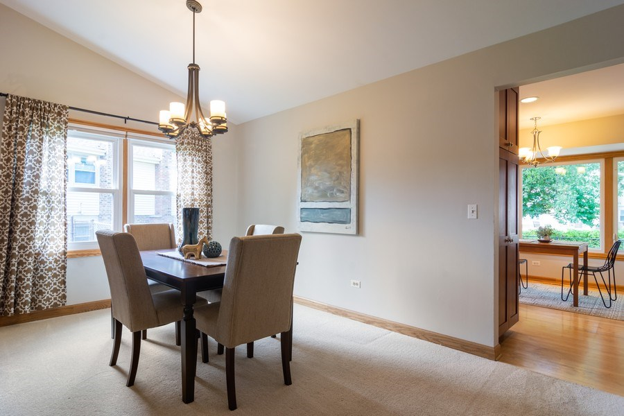 Real Estate Photography - 3039 North Huntington Dr, Arlington Heights, IL, 60004 - Dining Room