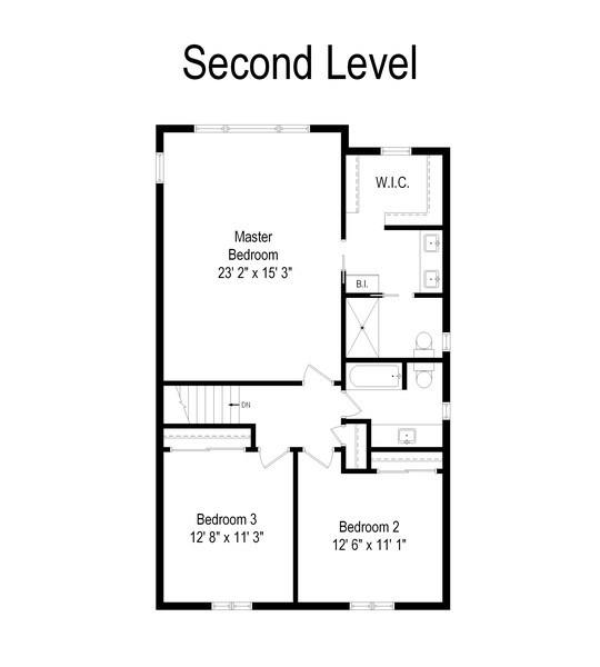 Real Estate Photography - 3039 North Huntington Dr, Arlington Heights, IL, 60004 - Floor Plan