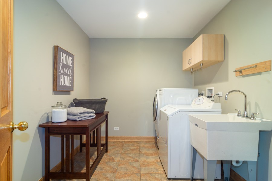 Real Estate Photography - 3039 North Huntington Dr, Arlington Heights, IL, 60004 - Laundry/Mudroom w/room for folding or add cubbies
