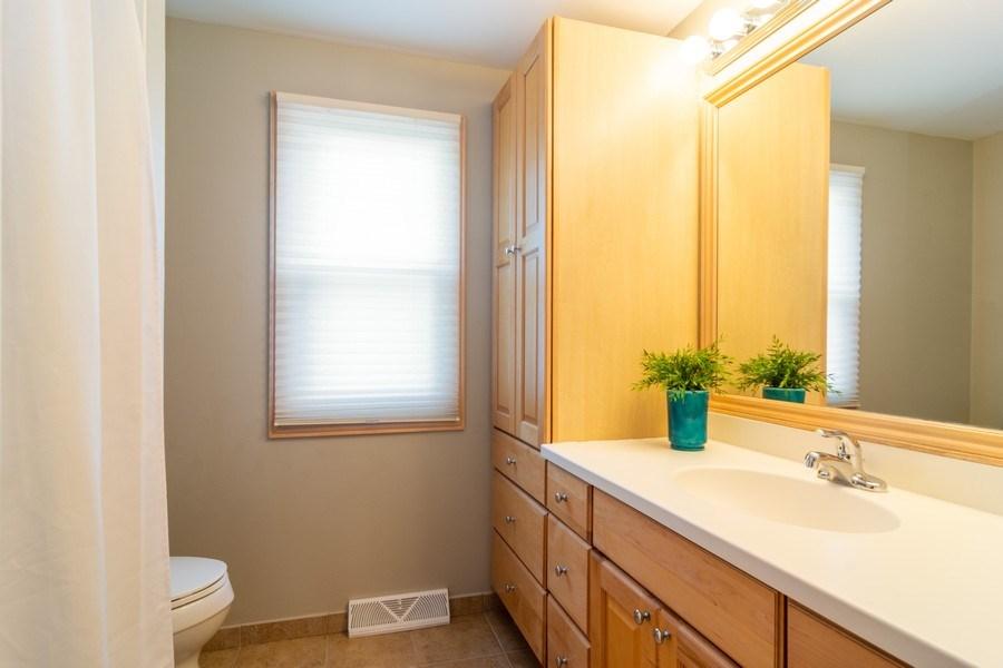 Real Estate Photography - 3039 North Huntington Dr, Arlington Heights, IL, 60004 - Upstairs Hall Bathroom