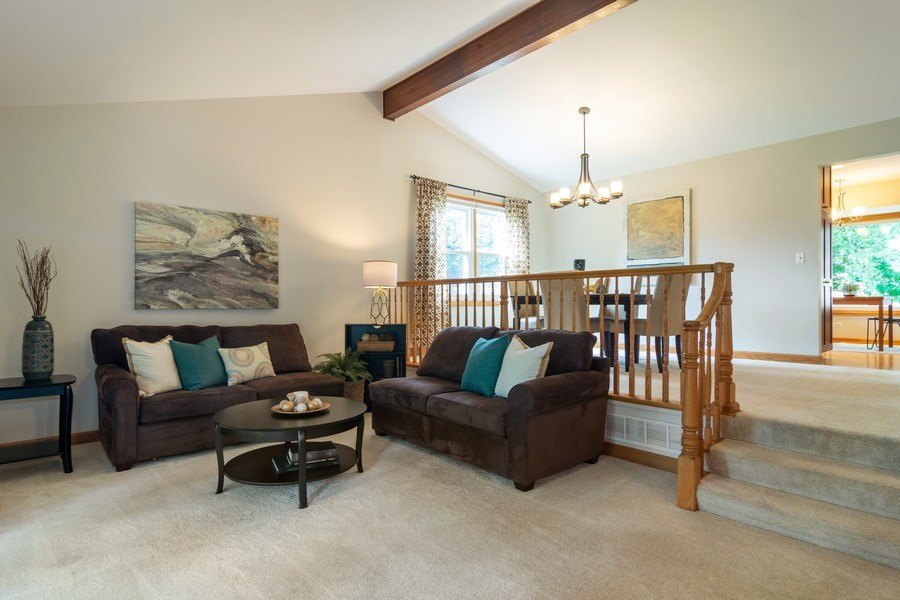 Real Estate Photography - 3039 North Huntington Dr, Arlington Heights, IL, 60004 - Living Room / Dining Room
