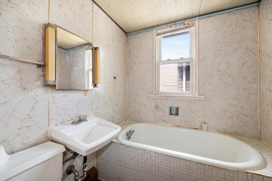Real Estate Photography - 2922 North Marmora Ave, Chicago, IL, 60634 - Master Bathroom