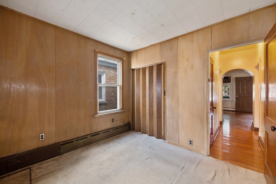 Real Estate Photography - 2922 North Marmora Ave, Chicago, IL, 60634 - 3rd Bedroom