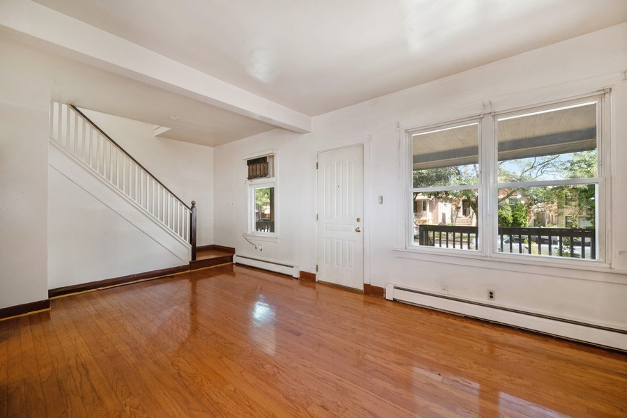 Real Estate Photography - 2922 North Marmora Ave, Chicago, IL, 60634 - Living Room