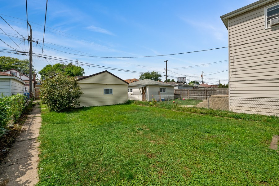 Real Estate Photography - 2922 North Marmora Ave, Chicago, IL, 60634 - Back Yard