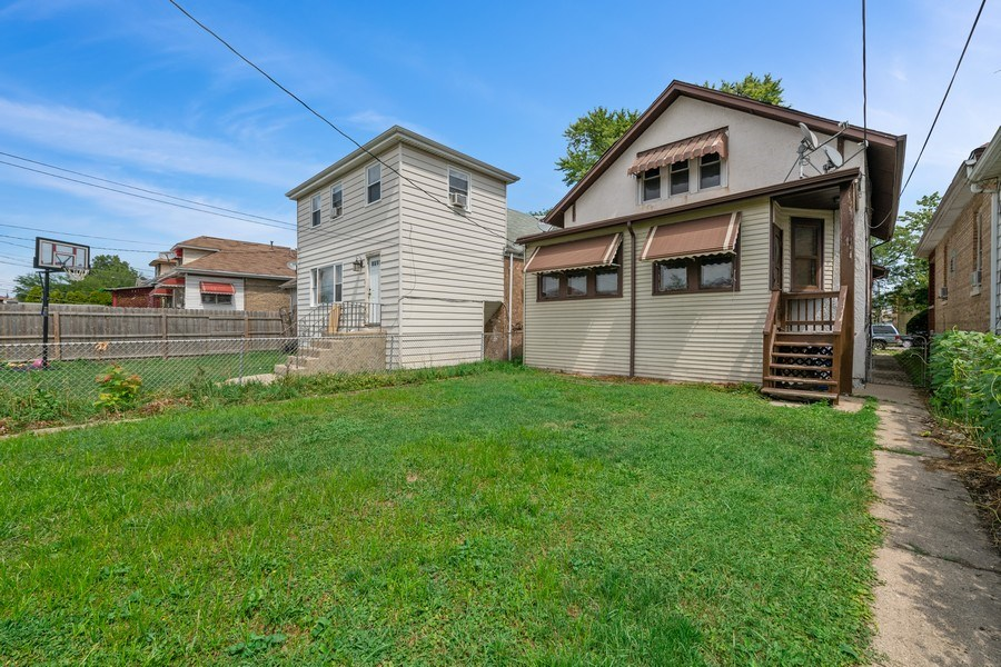 Real Estate Photography - 2922 North Marmora Ave, Chicago, IL, 60634 - Rear View