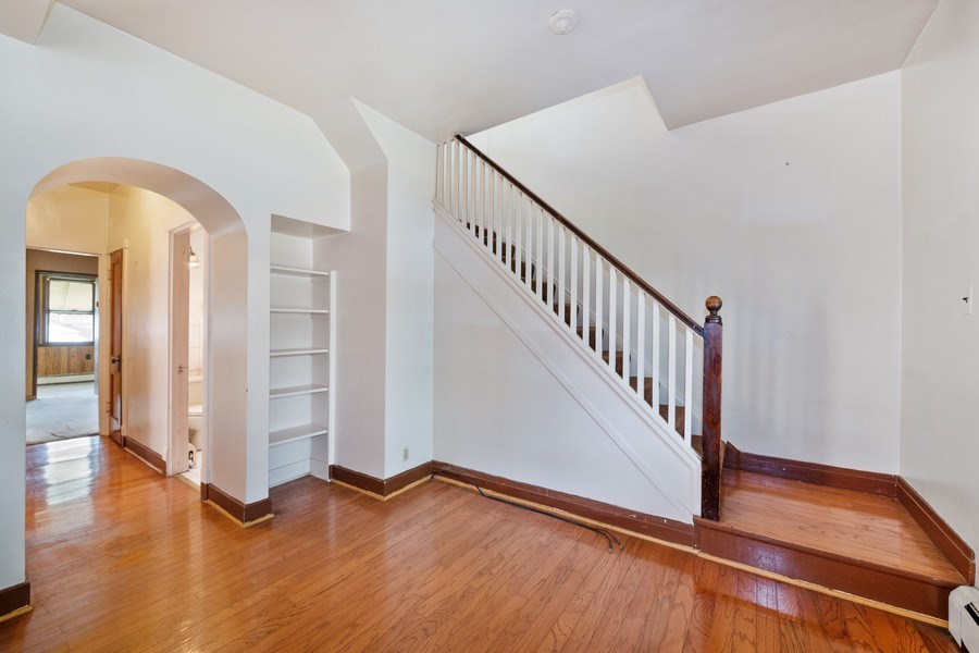 Real Estate Photography - 2922 North Marmora Ave, Chicago, IL, 60634 - Staircase