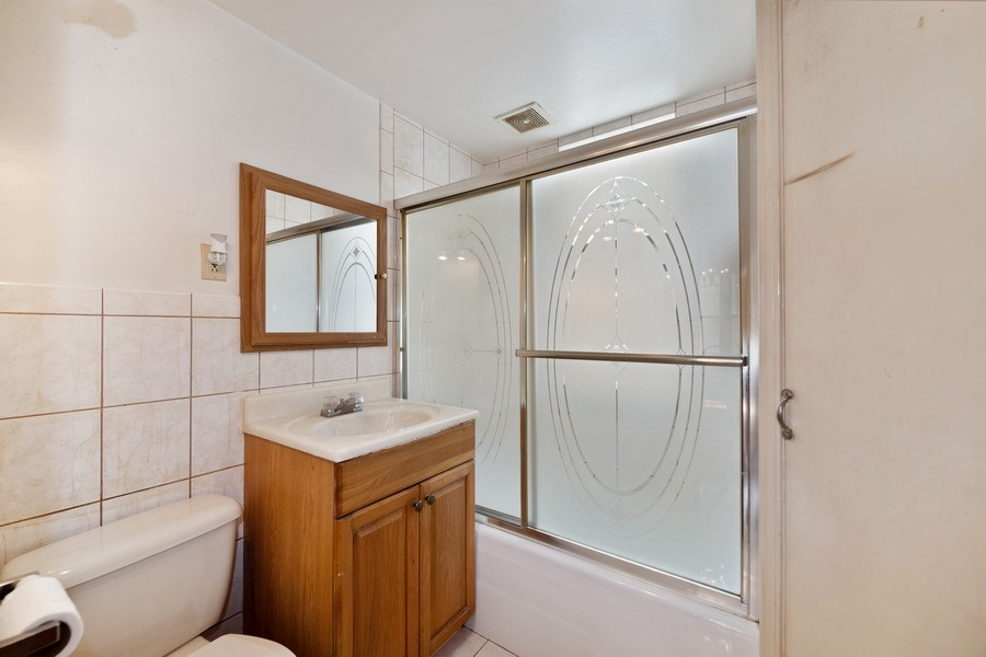 Real Estate Photography - 2922 North Marmora Ave, Chicago, IL, 60634 - 2nd Bathroom