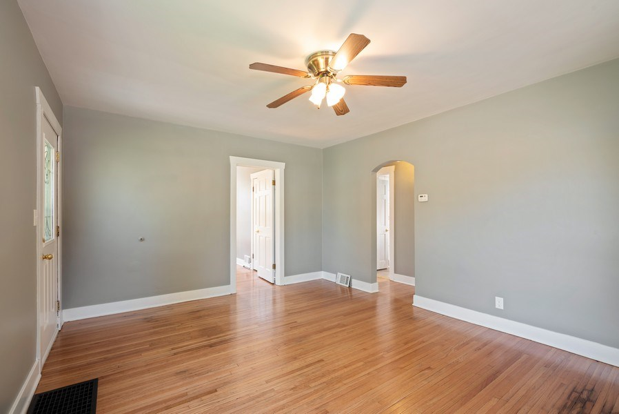 Real Estate Photography - 244 North Clifton Ave, Elgin, IL, 60123 - Living Room