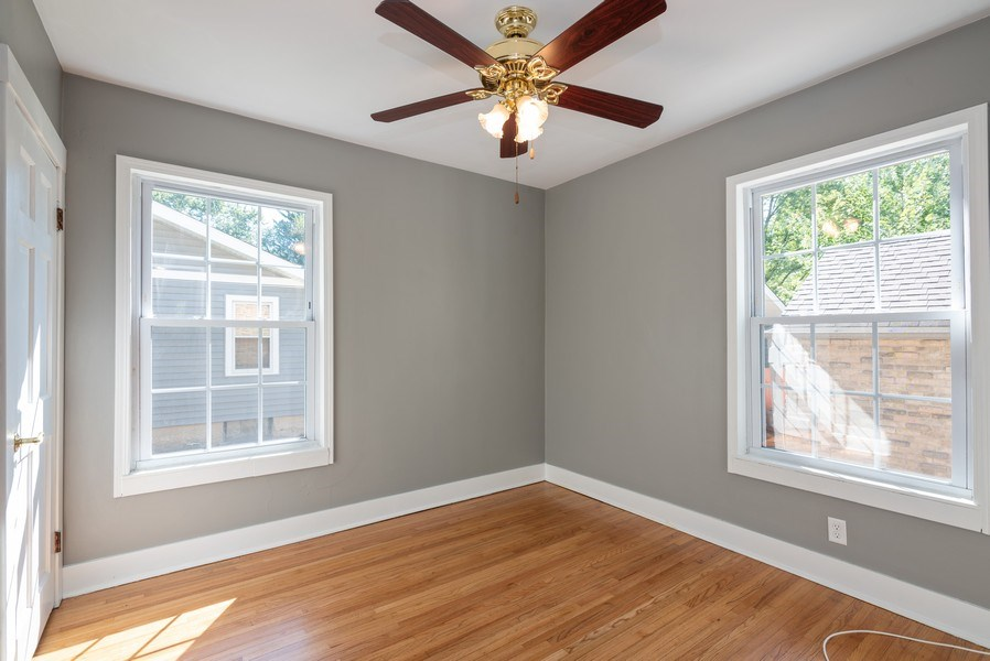 Real Estate Photography - 244 North Clifton Ave, Elgin, IL, 60123 - 3rd Bedroom