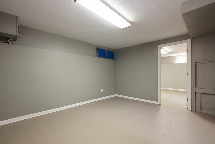Real Estate Photography - 244 North Clifton Ave, Elgin, IL, 60123 - Basement