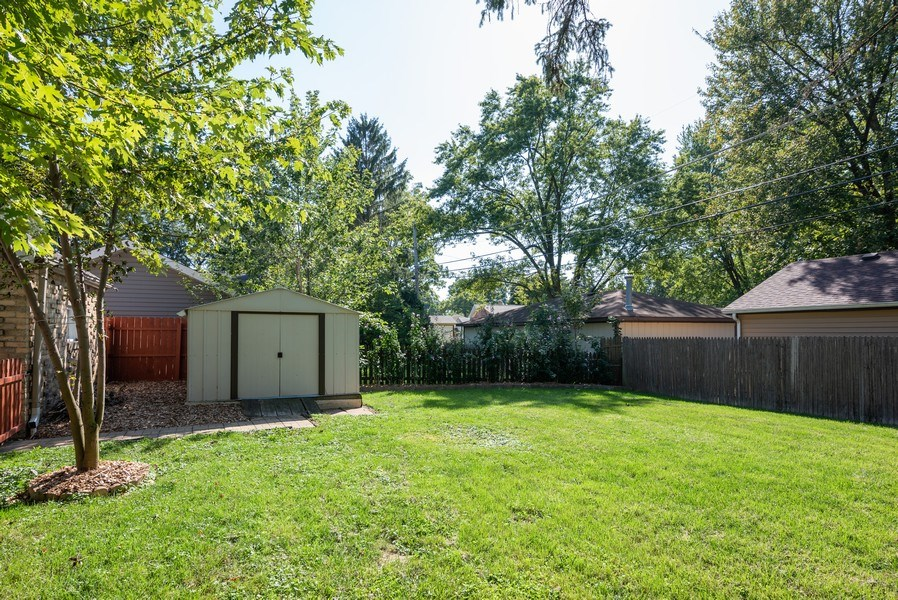 Real Estate Photography - 244 North Clifton Ave, Elgin, IL, 60123 - Back Yard