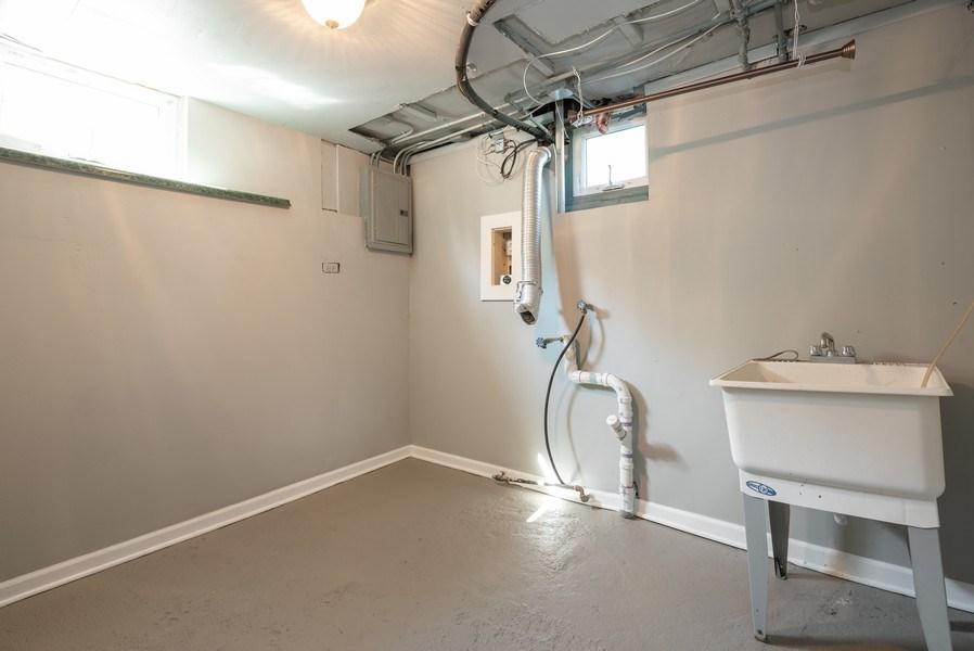 Real Estate Photography - 244 North Clifton Ave, Elgin, IL, 60123 - Laundry Room