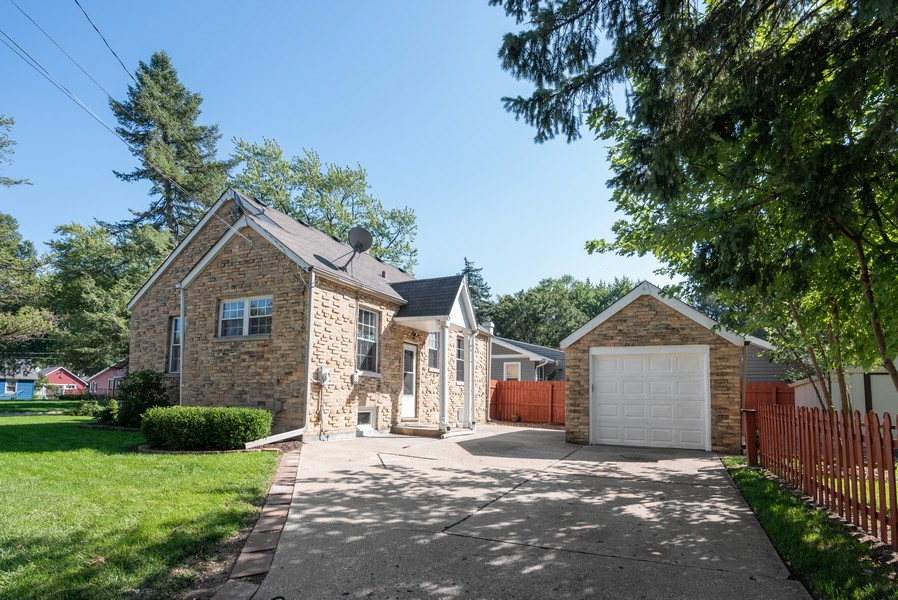 Real Estate Photography - 244 North Clifton Ave, Elgin, IL, 60123 - Rear View